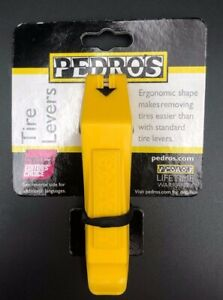 Yellow Pedros Tire Levers 2 Pack
