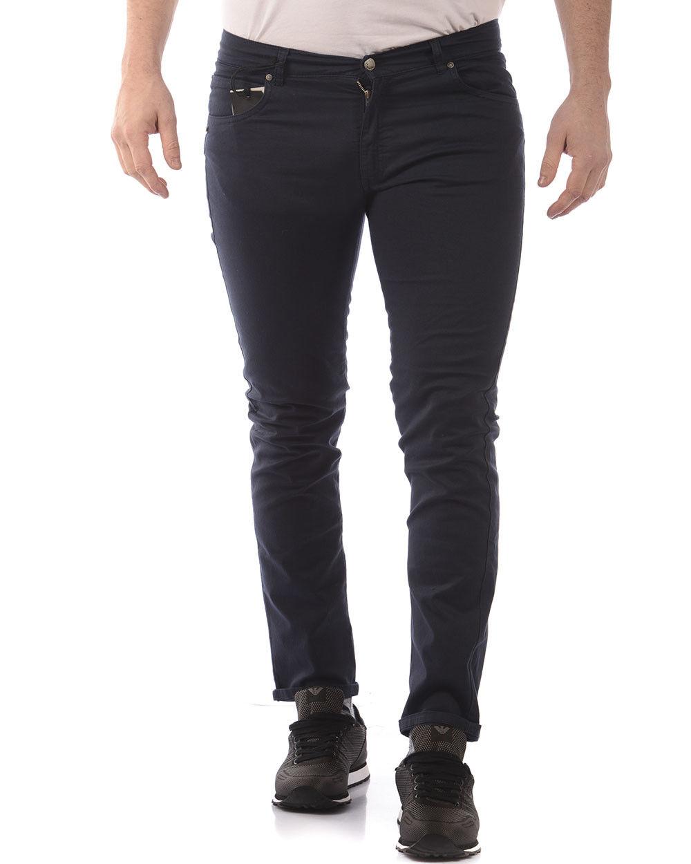 Pantaloni Daniele Alessandrini Jeans Trouser Cotone Uomo Blu PJ5385L1003700 23