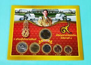 Thailand-2016-17-King-Rama-IX-6-pcs-Commemorative-Coin-Set-A