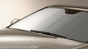 OEM GENUINE MERCEDES BENZ WINDSHIELD SUN SHADE UVS-100T 17-UP SL ... 17c07d62441