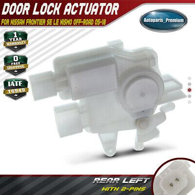 A-Premium Door Lock Actuator Motor for Nissan Frontier 2005-2018 Rear Left Driver Side