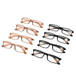 Flexible-Reading-Glasses-Mens-Womens-UV-Reader-Ultra-Light-Eyewear