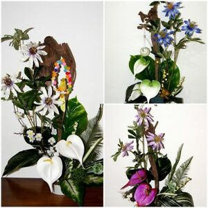 Clematis Kunstblumen Kunstliche Geschenk Blumen Buro Office