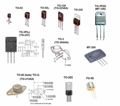 BUZ310 Lot of 5 Transistor A-B4