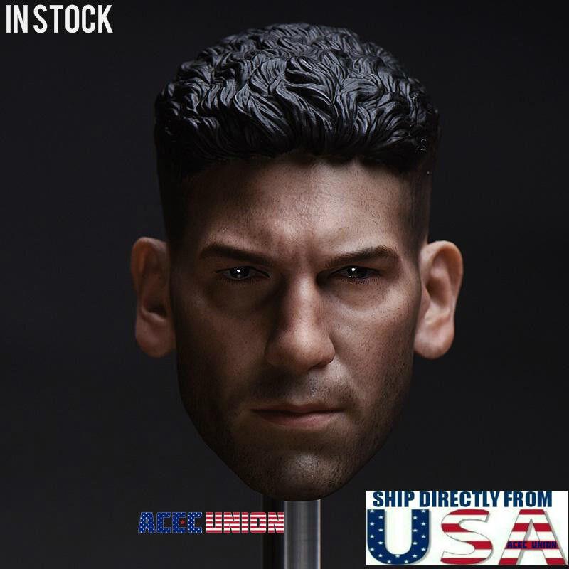 1 6 Punisher Head Sculpt Jon Bernthal For Hot Toys PHICEN Male Figure USA SELLER
