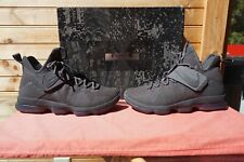 aba2c294c0d Nike Lebron XIV Limited Zero Dark Thirty Men Basketball Shoes 852402 ...