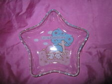 Little Twin Stars Glass Trinket Dish Rare 2002 Vintage Sanrio