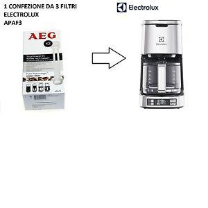 1 CONFEZIONE DI FILTRI ORIGINALI ELECTROLUX AEG APAF3 PER EKF5300 , 3 PZ
