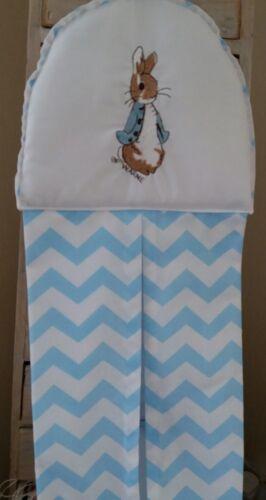 manta de lana apilador de pañales Cojín Peter Rabbit vivero cuna cama conjunto Paquete.