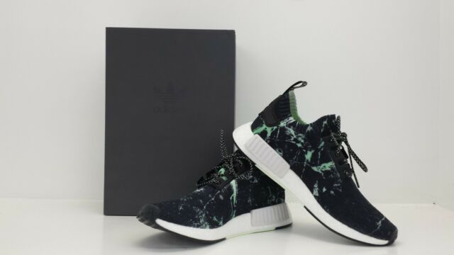 28982a6356133 Adidas NMD R1 PK Primeknit Nomad Green Marble Flash BB7996 - BRAND NEW IN  BOX!