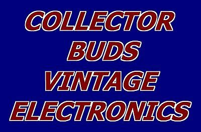 Collector Buds Vintage Electronics