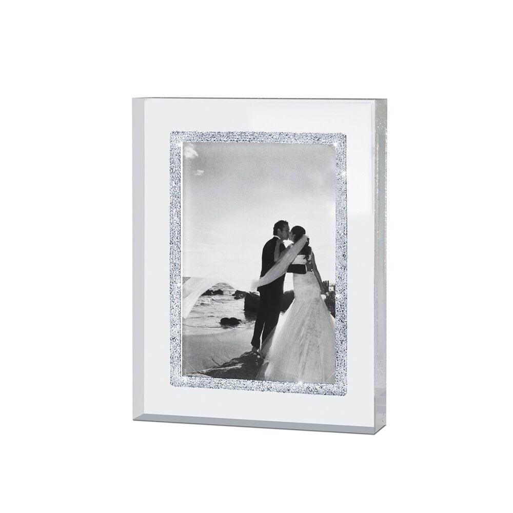 Infinity Picture Frame 9 x 13 cm with Swarovski Crystals