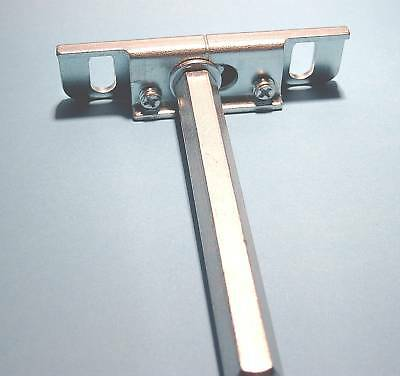 4 Tablarträger//Bodenträger regulierbar,Stahl unsichtbare Befestigung