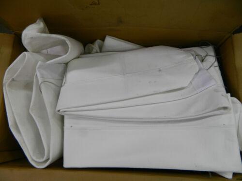 """NEW SCHICK TUBE-VEYER BAG SOCK DUST FILTER SLEEVE 6/"""" DIAMETER 84/"""" LENGTH"""