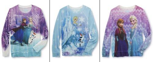 FROZEN Top//Shirt Sweater Elsa,Anna,Olaf Size 4-5-6-8-10-12-14 Girls Long Sleeve