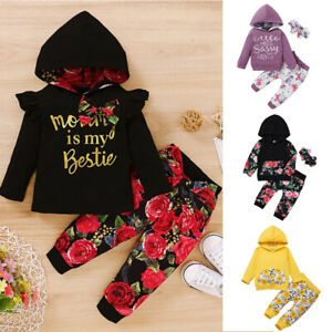 Toddler-Infant-Baby-Girls-Hooded-Tops-Floral-Pants-Outfits-Clothes-Set-Tracksuit
