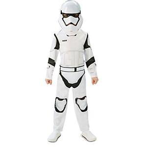 Star-Wars-Costume-de-Storm-Trooper-pour-Enfants-Taille-5-6-Ans-Carnaval-Fete
