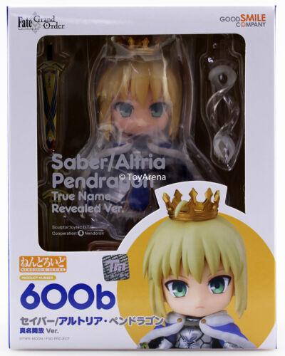 Nendoroid #600b Saber Altria Pendragon vrai nom révélé Ver sort Grand Ordre