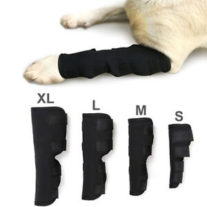 Dog-knee-support-leg-protector-hock-brace-rear-joint-therapeutic-pet-wrap-BgP