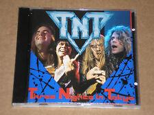 TNT - THREE NIGHTS IN TOKYO - CD JAPAN
