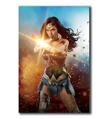 Wonder Woman 2017 Superheroes Movie Art Silk Poster 12x18 24x36 inch