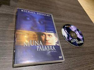 Ohne-ein-Wort-DVD-Michael-Douglas-Don-039-T-Say-auf-Word