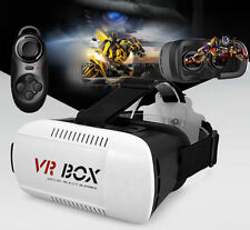 VR Box 3D Glasses Google Cardboard+ Gamepad For Samsung Galaxy S6/5/4 Note 5