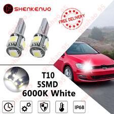 Mercedes SLK R171 White LED Superlux Side Light Beam Bulbs Pair Upgrade