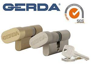 Gerda di alta qualità del profilo EURO cilindro serratura Barrel wke1 Pollice Giro  </span>