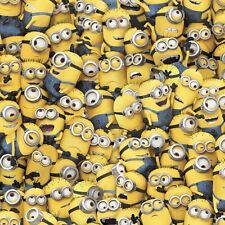 Medical_Surgical scrub hat_cap_minions_despicable me_packed_stacked_cotton_ties