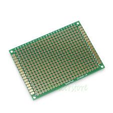 2 pcs single side prototype pcb board stripboard 70x50mm green ebay rh ebay com