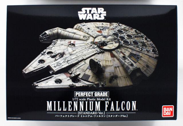 Bandai Star Wars Perfecto Grado Halcón Milenario Estándar 1/72 Escala Kit 257271