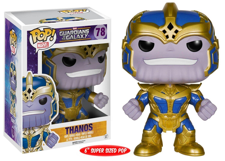Guardians of the Galaxy Thanos 6-Inch Pop  Vinyl Bobble Head Funko