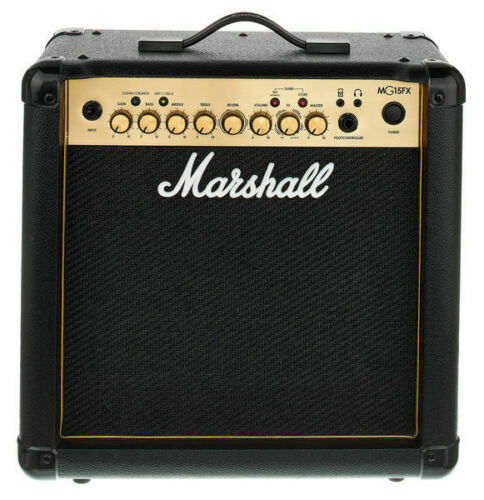 Marshall amplificatore chitarra elettrica MG15GFX Gold