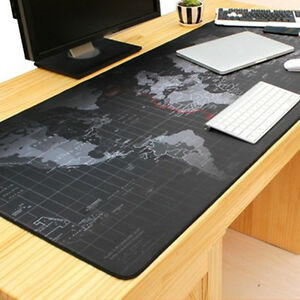Image Is Loading 90 40cm World Map Pattern Gaming Mouse Mat