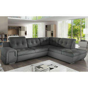 Corner Sofa Bed Galaxy B With Storage Container And Sleep Function