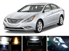Xenon White Vanity / Sun visor LED light Bulbs for Hyundai Sonata (2 Pcs)