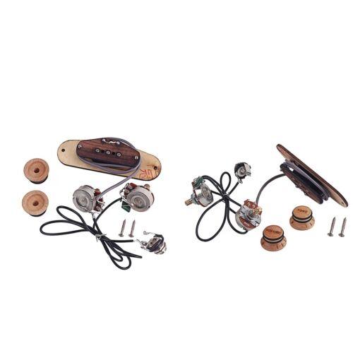 2er Pack Maple Single Coil Pickup Für 3 Saitige Cigar Box Gitarre Zubehör
