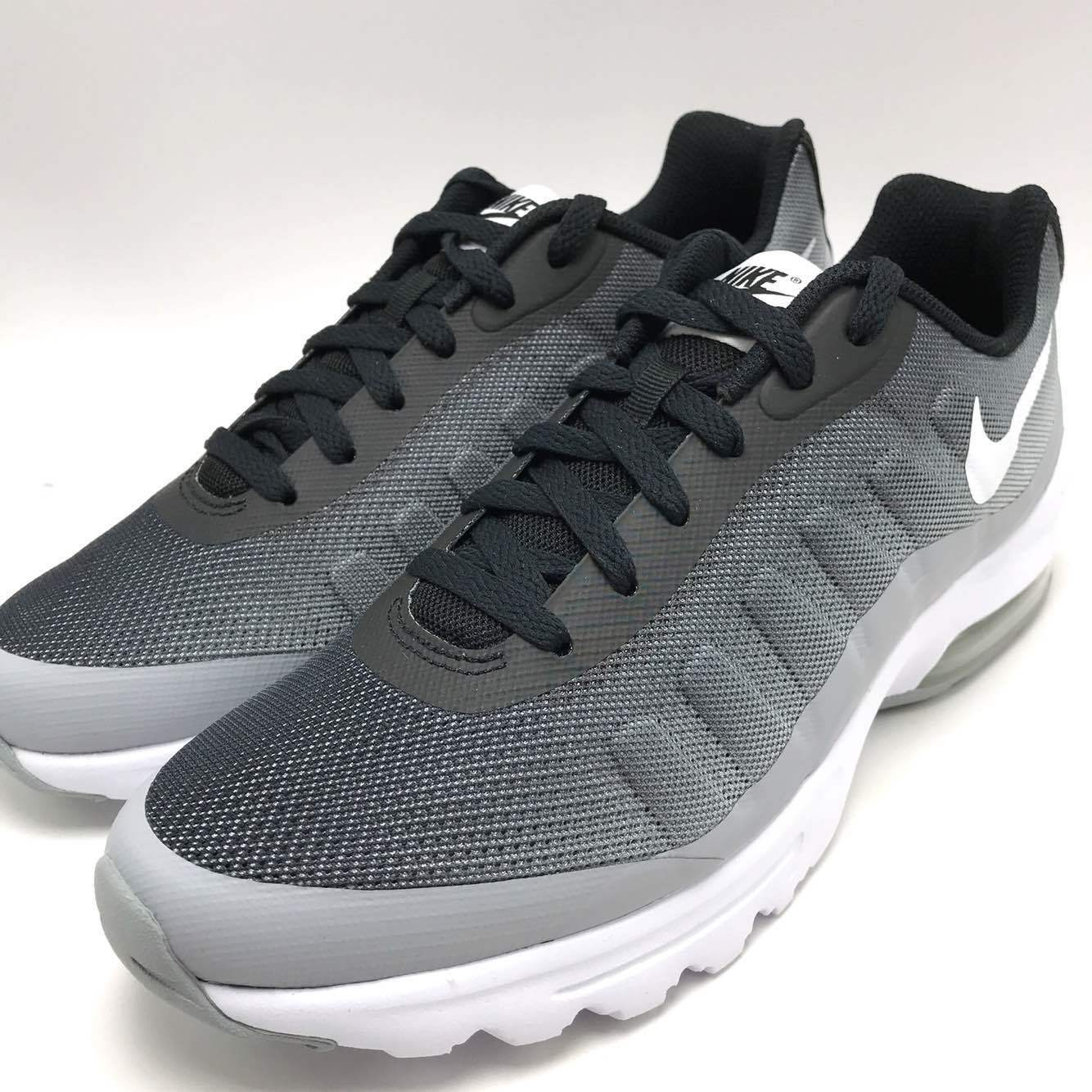 brand new 4fce1 4f47d Nike Air Max Invigor Print Men s Running Shoes Black White-Wolf Grey Grey  Grey 749688-001 c654a1