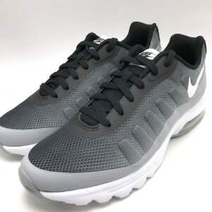 f8cd8fc2691b Nike Air Max Invigor Print Men s Running Shoes Black White-Wolf Grey ...