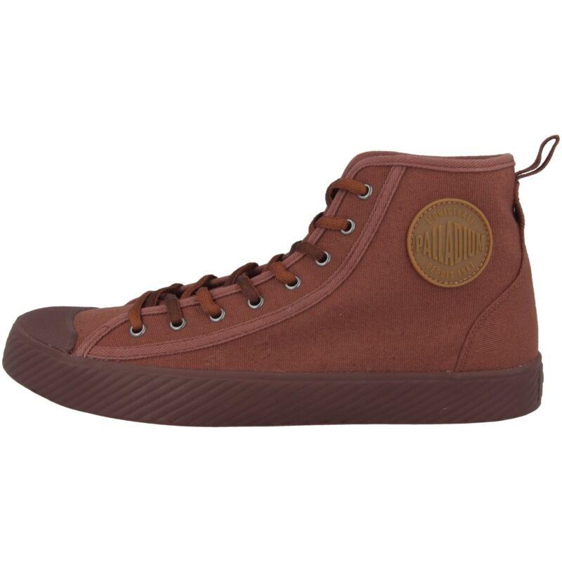 Palladium Pallaphoenix Mid Canvas Shoes High Top Sneaker Boot Sequoia 75956-255-show Original Title