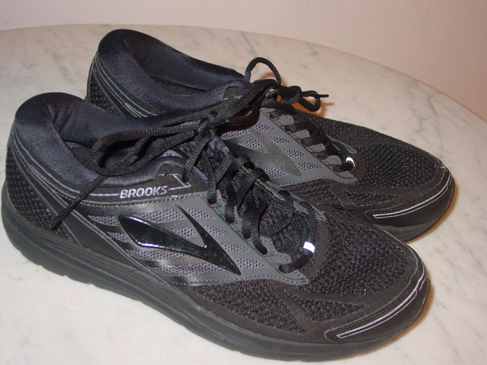 Para Hombre Brooks Addiction 13 Negro 1102612E071 Running Zapatos  tamaño 10.5 amplia