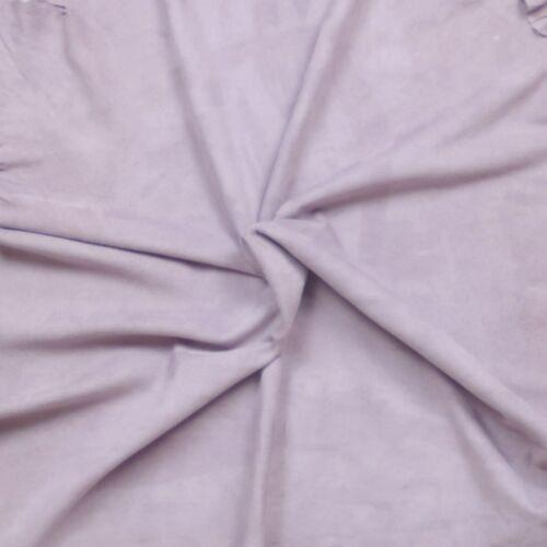 Superb silky soft goat suede Velvet nap Lilac Grade 2 BARKERS HIDE & SKINS H384