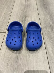 Boys Baby Toddler Crocs / Water Shoes / Beach Shoes Blue ...
