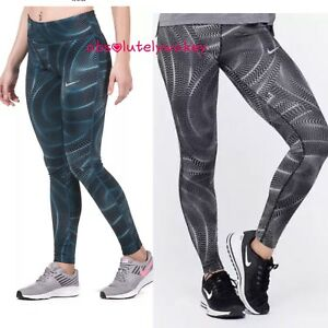 Armonioso maorí Opuesto  Nike Power Essential Running Training Gym Tights Women´s Dri-Fit | eBay