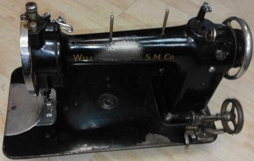 WILLCOX /& GIBBS doble pespunte tipo 10-A Máquina de Coser Folleto De Instrucciones Manual