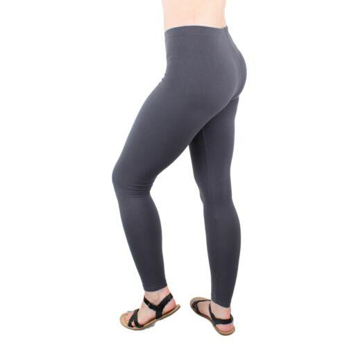 Womens Leggings High Waist Buttery Soft MicroLuxe Full Ankle Length Pants