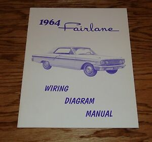 1964 ford fairlane wiring diagram manual 64 ebay. Black Bedroom Furniture Sets. Home Design Ideas