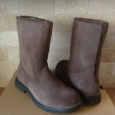b413373748c UGG BOOTS Langley Chocolate Brown Women's Size 11 for sale online   eBay
