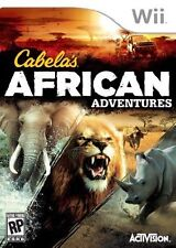 Cabela's African Adventures (Nintendo Wii, 2013) BRAND NEW SEALED